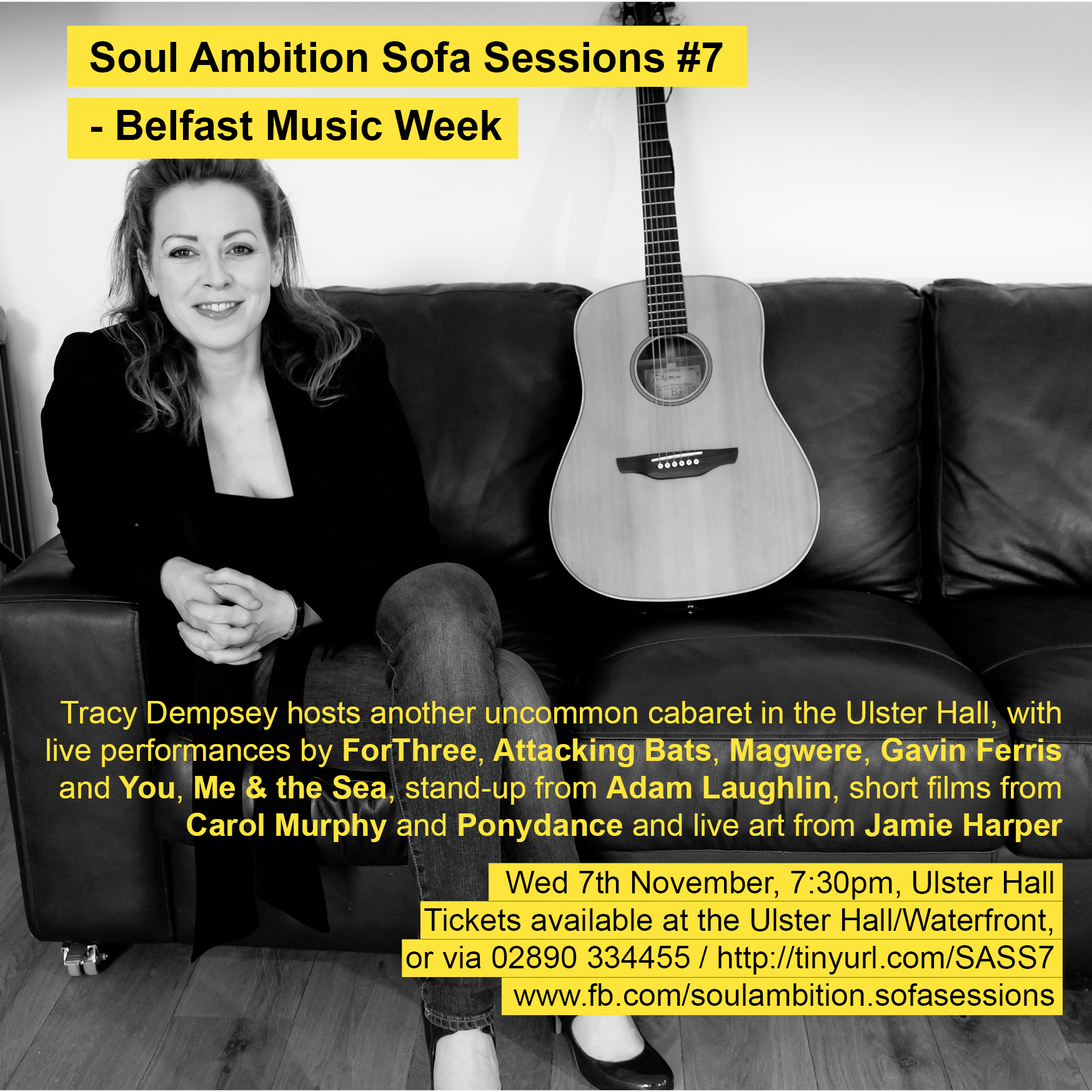 Thumbnail image for Sofa Sessions #7: Belfast Music Week